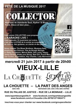 Collector f te de la musique 2017 la part des anges lille 59800 sortir lille le - Fete de la musique 2017 date ...