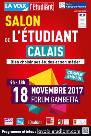 Salon de l 39 tudiant de calais forum gambetta calais 62100 sortir lille le parisien - Invitation salon de l etudiant ...