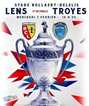 Rc lens estac troyes 8eme de finale de coupe de france - Tirage 8eme de finale coupe de france ...