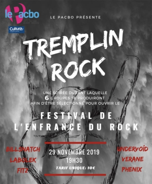 TREMPLIN ROCK / ENFRANCE DU ROCK