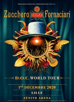 ZUCCHERO - D.O.C WORLD TOUR 2020