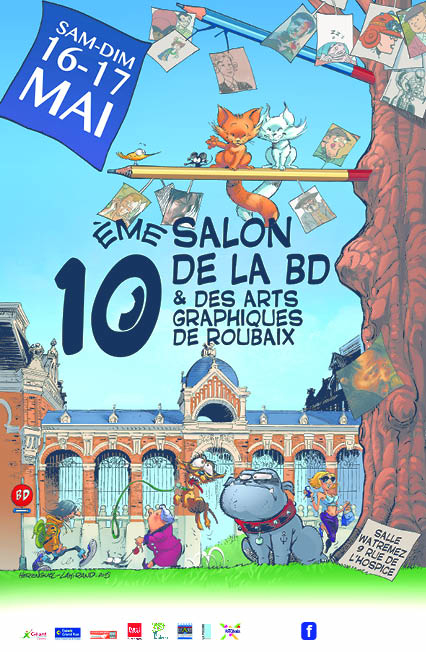 10e salon de la bd et des arts graphiques de roubaix for Salon de la bd colomiers