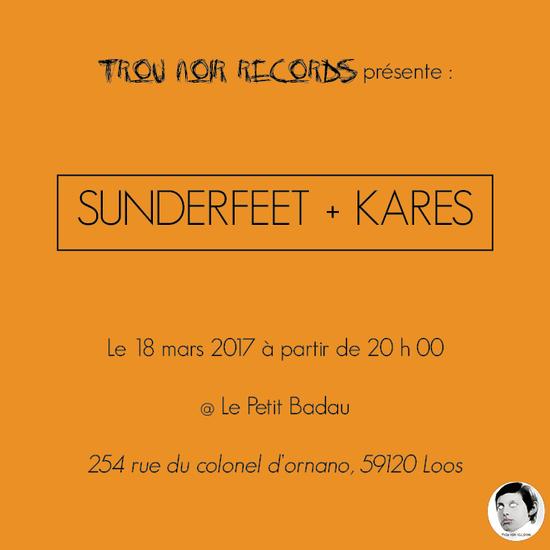 Sunderfeet kares at le petit badau loos 18 mars for Garage petit mars