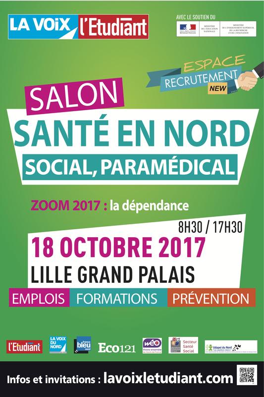 Salon sant en nord lille grand palais lille 59000 for Salon emploi 2017