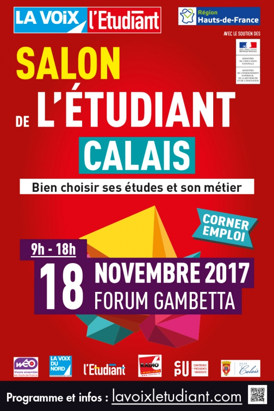 Pass salon de l 39 tudiant de calais forum gambetta le for Salon de l erotisme a lille