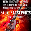 affiche Faux Passeports - Live Rock Cover