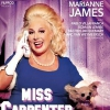affiche MISS CARPENTER - avec Marianne James
