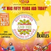 affiche THE BOOTLEG BEATLES - 50 YEARS AGO TODAY SGT PEPPER'S