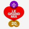 affiche BRNS / TRAAMS / DIET CIG - LE GRAND MIX - 20 ANS - JOUR 2