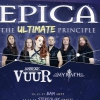 affiche THE ULTIMATE PRINCIPLE TOUR - EPICA + VUUR + MYRATH