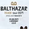 affiche BALTHAZAR - FEVER TOUR 2019