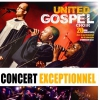 affiche UNITED GOSPEL CHOIR - 20E ANNIVERSAIRE