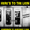 affiche Here's to The Lion chez Plumes et Goudron
