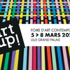 affiche Art Up! Foire d'art contemporain