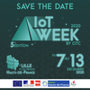 affiche IoT Week 2020 by CITC